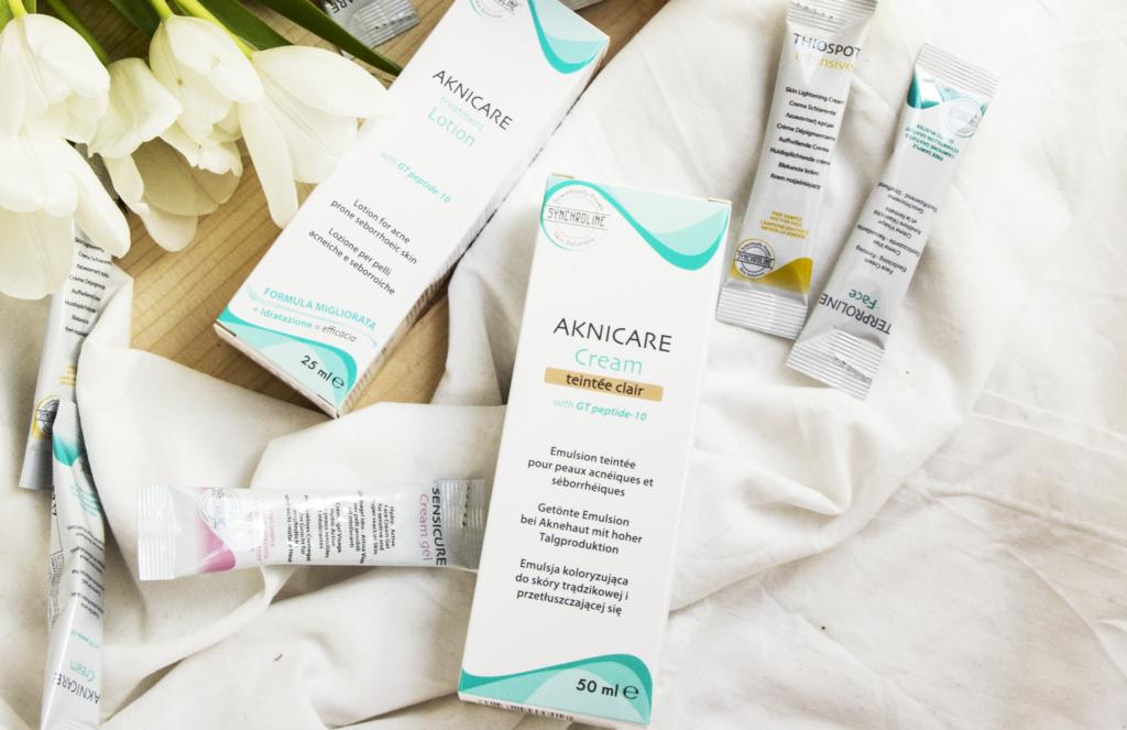 Kosmetyki z serii AKNICARE